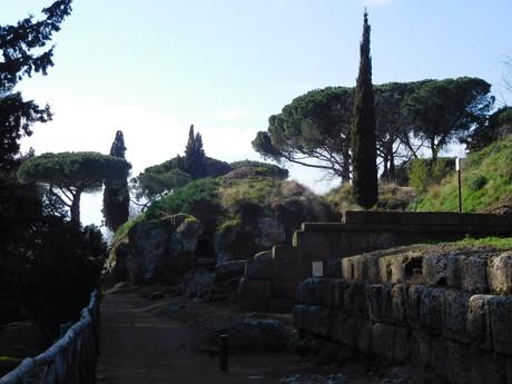 etruská mohylová nekropola Banditaccia