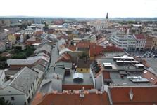 Arcibiskupský zámok - pohľad z veže
