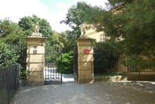 vstup do Podzámecké zahrady
