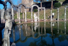 the compound of Villa Adriana - Kanópos