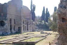 the compound of Villa Adriana