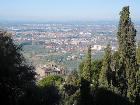 výhled od Villa d'Este