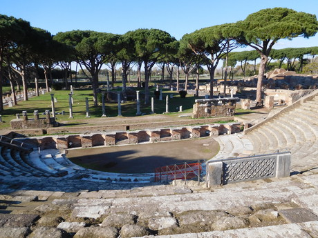 Ostia Antica compound