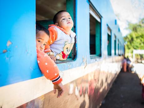 travelling in Burma