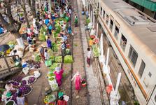 trh na předměstí
