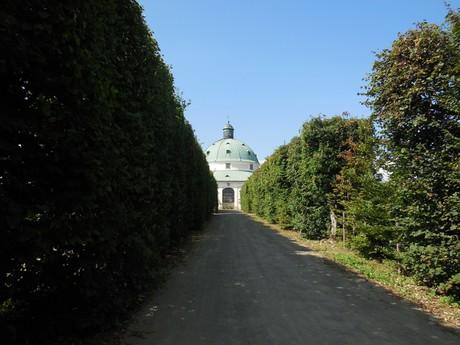 Květná zahrada - rotunda
