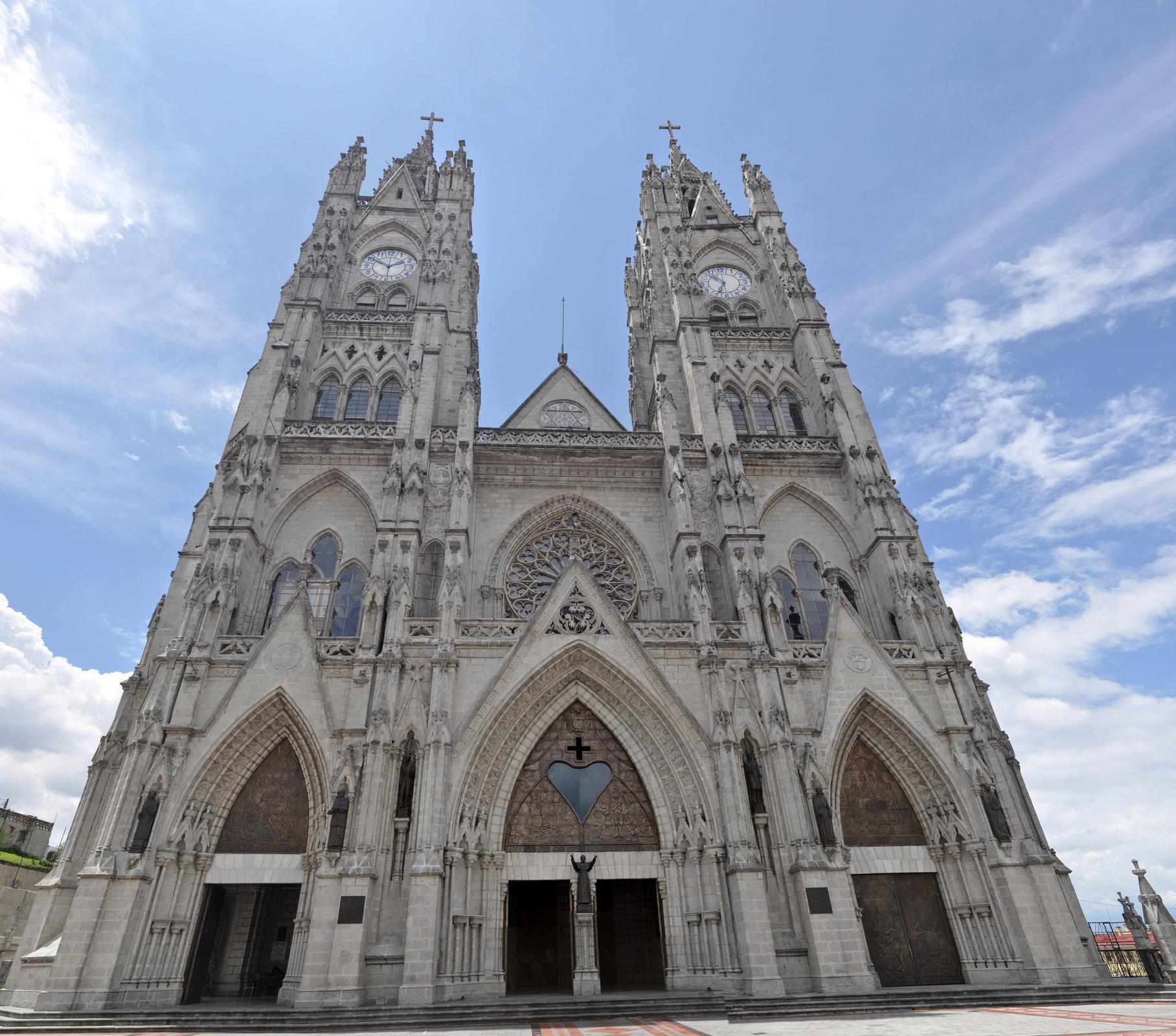 La Iglesia Basílica del Voto Nacional
