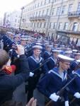 vojenská přehlídka k oslavám Dne vítězství