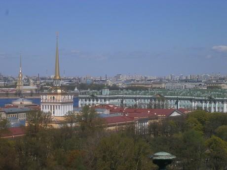výhled z katedrály sv. Izáka
