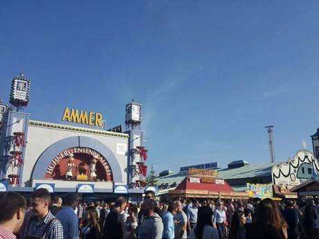 Mníchov - areál Oktoberfestu
