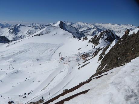 сноупарк и снежная  долина