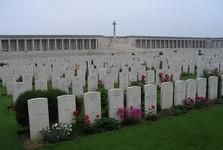 кладбище солдат, погибших в битве на Сомме