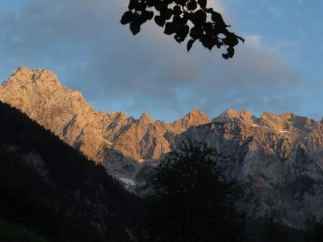 hory nad Logarskou Dolinou