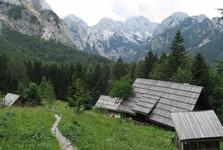 panoráma Logarskej doliny