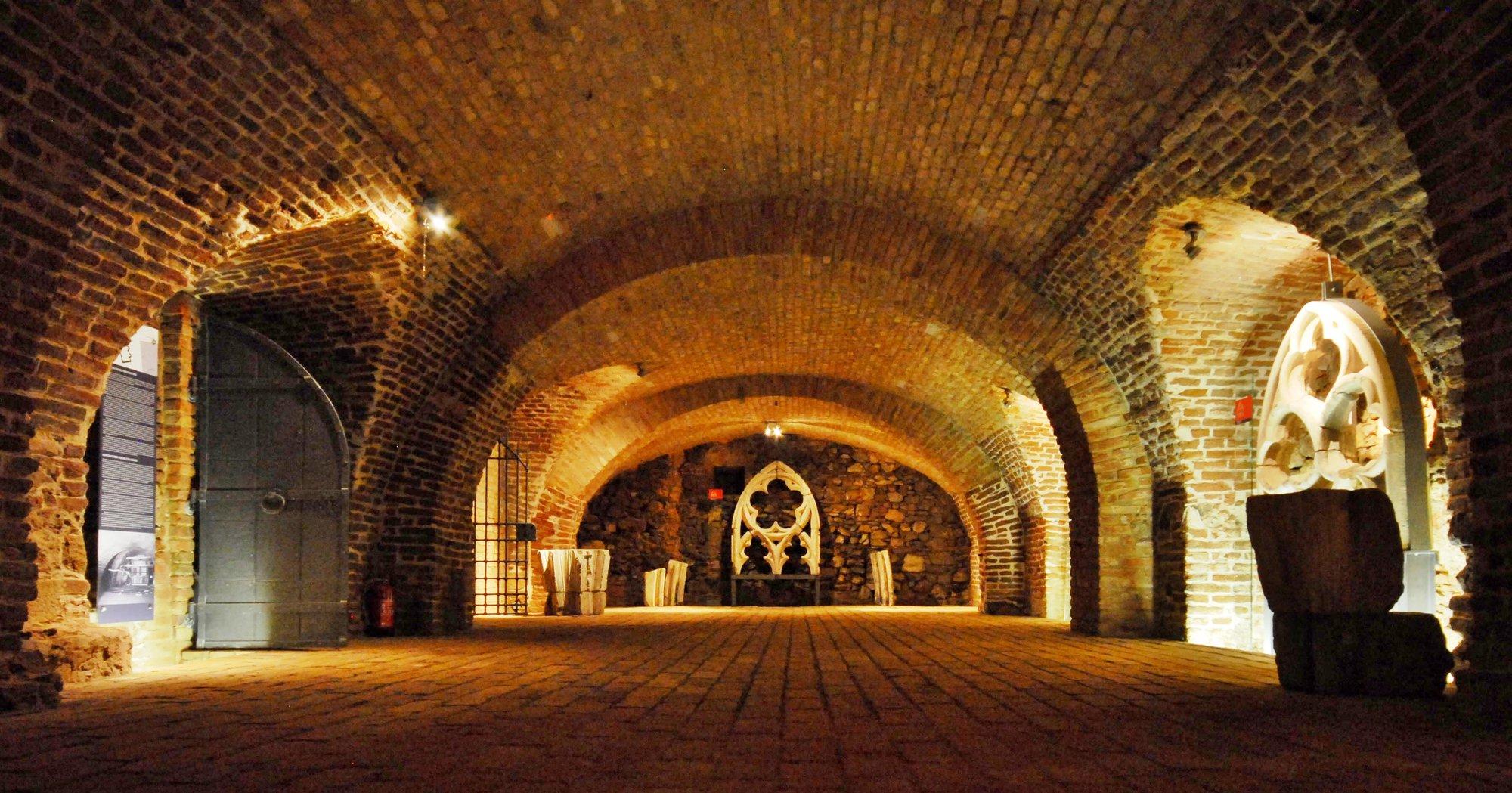 Brno underground – the coin master's cellar