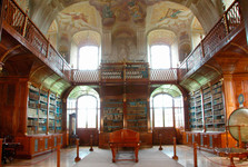 the library of Rajhrad