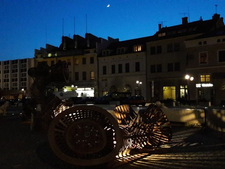 Mladá Boleslav - Old Town square