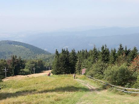 pohled směrem na Valašské Meziříčí