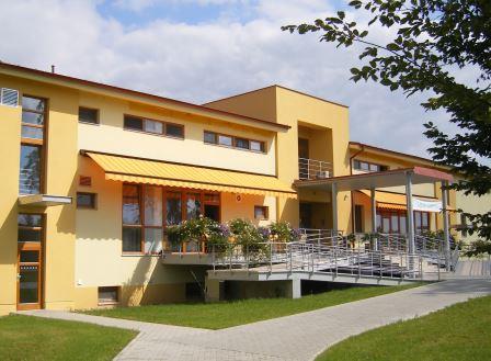 Леднице, здание курорта