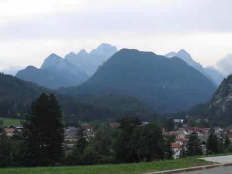 the vista over Triglav