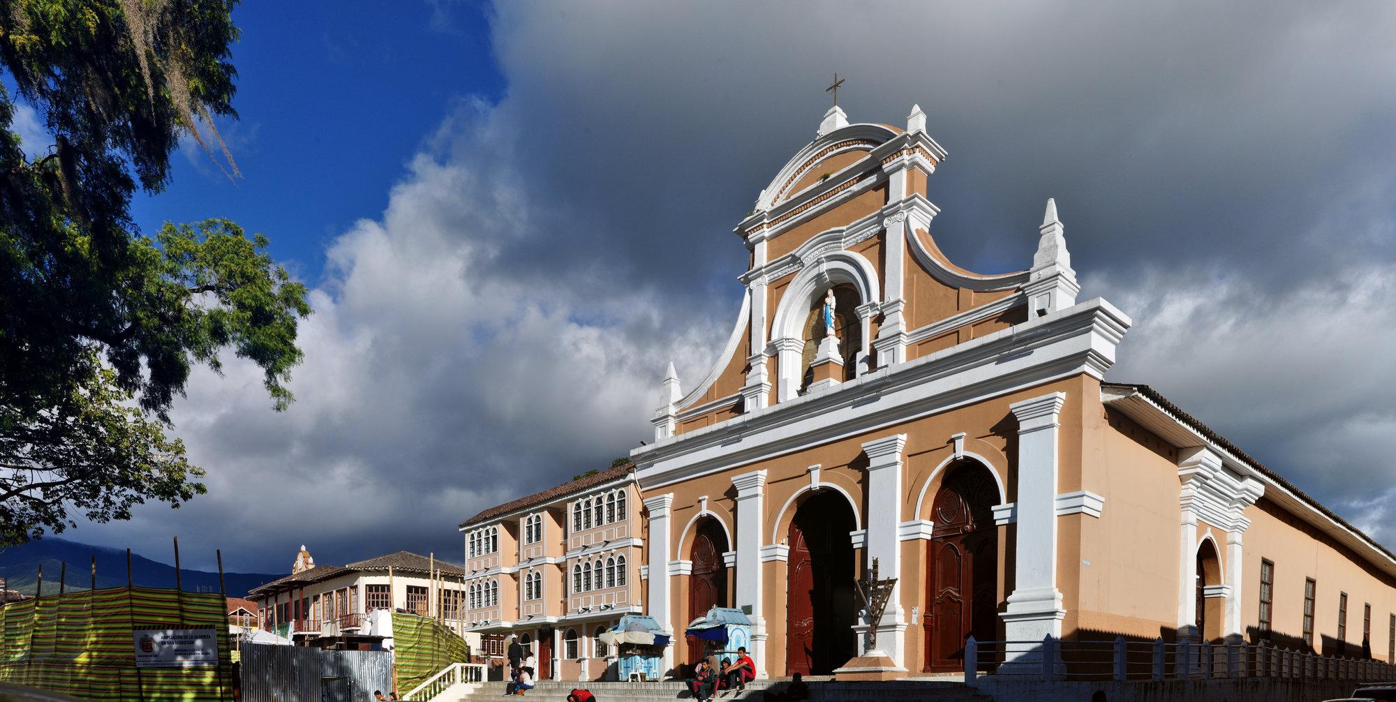 kostel San Sebastián