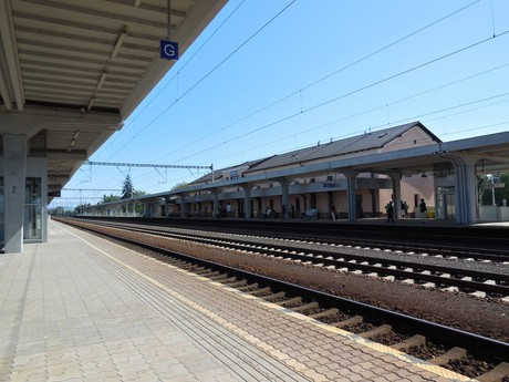 Piešťany - train station