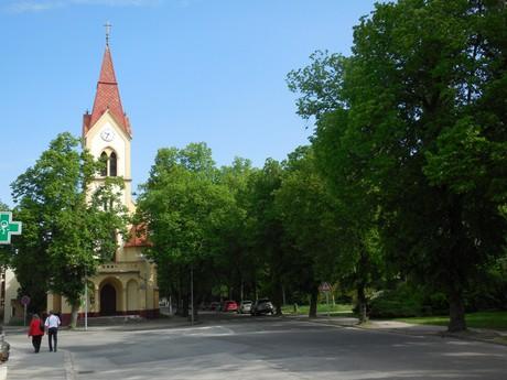 Пьештяны - костел Евангелической церкви аугсбурского исповедания