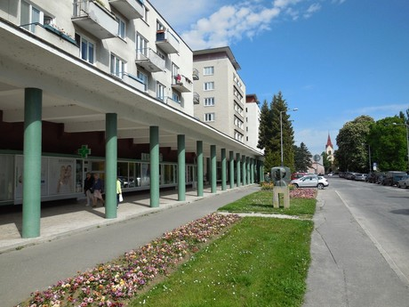 Piešťany - colonnade
