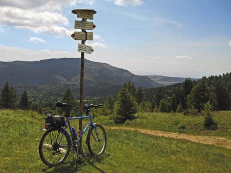 biking in Slovakia