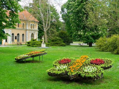 Piešťany - Balneologické múzeum a mestský park