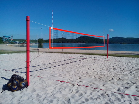 beach volleyball pitch