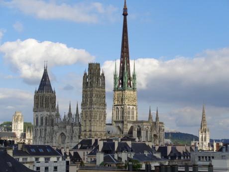 кафедральный собор в Руане