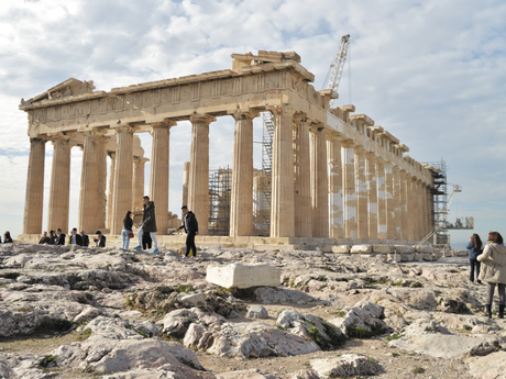 Europe book guide – the greatest trips (Acropolis, Greece)