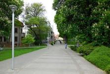 Piešťany - Sad A Kmete street