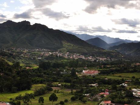výhled na Vilcabambu