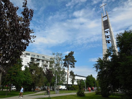 Piešťany - kostol Svatého Cyrila a Metoda