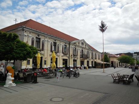 Piešťany - budova bývalého riaditeľstva kúpeľov