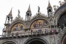San Marco basilica upclose