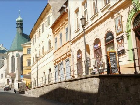 Banská Štiavnica - Trotuar