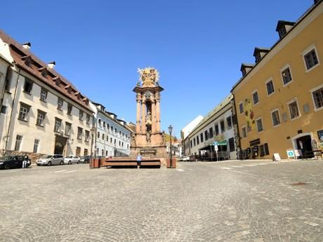 Banská Štiavnica - Holy Trinity square