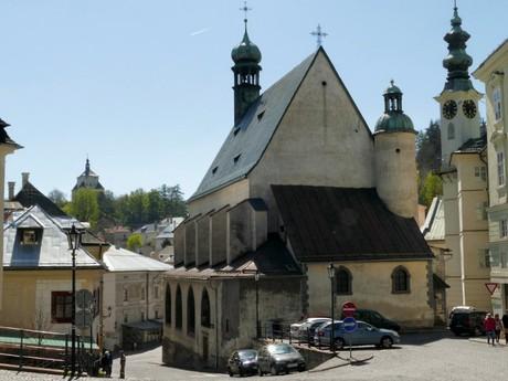Banská Štiavnica - St Catherina church