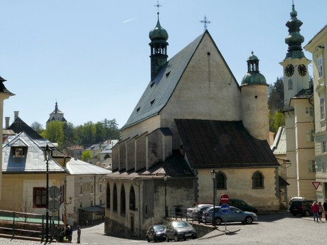 Banská Štiavnica - kostol sv. Kataríny