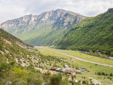 национальный парк Bredhi i Hotovës