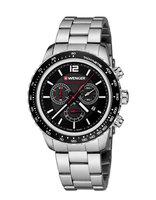 Švýcarská značka Wenger stvořila ocelové chronografy Roadster Black Night z  lásky k adrenalinovým sportům. Jsou robustní e04ae50c22