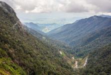 výhľad cestou z Da Latu do Nha Trangu