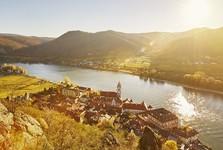 Durnstein – история на Дунайской велотрассе, (c) Michael Liebert – Niederösterreich Werbung