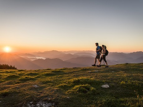 вид во время туризма по Венской альпийской дуге, (c) Robert Herbst - Niederösterreich-Werbung