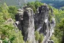 Bastei – krásy Saského Švýcarska