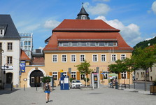 Marktplatz – Haus des Gastes – visitor center