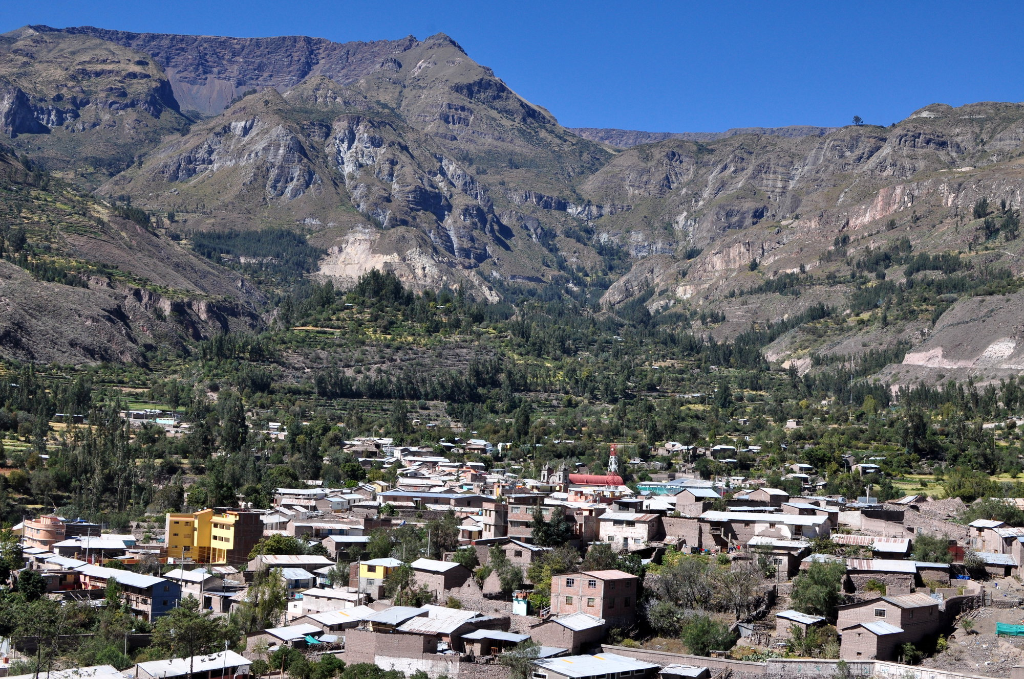 Cotahuasi village